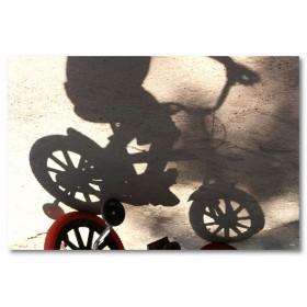 Αφίσα (παιδί, ποδηλατάκι)